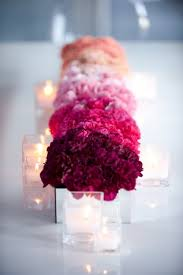 Cheap Wedding Table Centerpiece Ideas by 30 Totally Breath Taking Ways To Use Ombre Wedding Flowers Ombre
