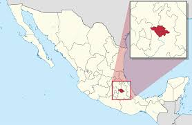 Mexico Volcano Map by Tlaxcala Wikipedia