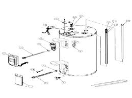 rheem water heater wiring diagram rheem water heater