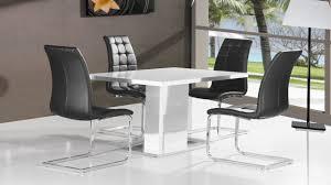 Black Gloss Dining Room Furniture White Gloss Dining Room Table Best Gallery Of Tables Furniture