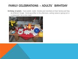 birthdays and other celebrations ppt