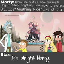 rick and morty halloween background rick and morty crossover event rick vs the forces of evil
