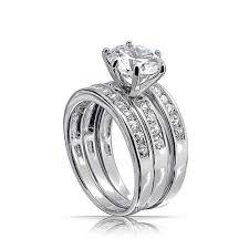 3 engagement ring wedding rings zales bridal sets trio wedding ring sets wedding