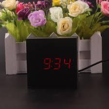 online shop 2017 digital alarm clock square mini small cute led