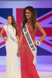 Uk Flag Dress North East Women Fly The Flag For The Region At Miss Great Britain