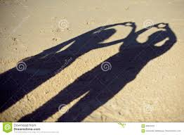 silhouettes of couple or two lovers photography together shadow