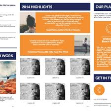 free annual report template non profit templates black friday poster and annual report for ngo intended