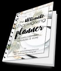 the ultimate thanksgiving planner ebook challenge gathered in