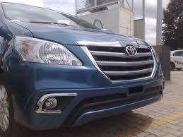 Toyota Innova Z Model Interior Spied Toyota Innova U0027z U0027 In India Carsizzler Com