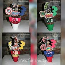 avengers superheroes centerpieces all characters superheroes