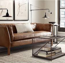 Restoration Hardware Kensington Leather Sofa Best 25 Leather Sofas Ideas On Pinterest Brown Leather Sofa