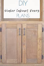 how to make easy shaker cabinet doors easy shaker cabinet doors
