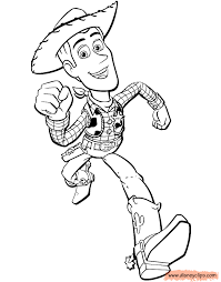 woody head toy story coloring pages