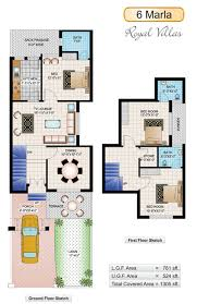 home design for 10 marla 6 marla royal villas civil engineers pk