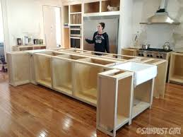 how to your own kitchen island building kitchen island build a diy kitchen island build basic
