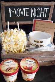 Popcorn Sayings For Wedding Movie Night Date Crate Ice Cream Bowl Cream Bowls And Popcorn