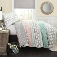 Bedding Quilt Sets Elephant Stripe Bedding Quilt Set Walmart