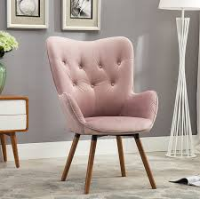 Armchairs Accent Chairs Amazon Com Roundhill Furniture Doarnin Contemporary Silky Velvet
