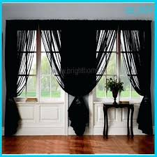 95 Long Curtains Sheer Black Curtains U2013 Teawing Co