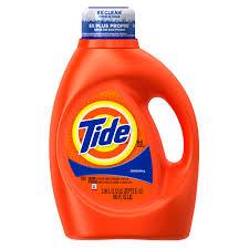 tide original scent liquid laundry detergent 100 oz 64 loads