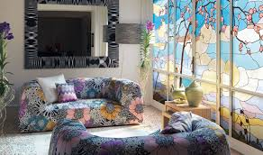 missoni home presents bright floral fabrics philippine tatler