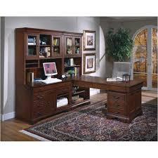 Partner Desk With Hutch I85 345 Aspen Home Furniture Partners Desk Base End