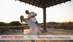 travel registry wedding liberty travel honeymoon registry