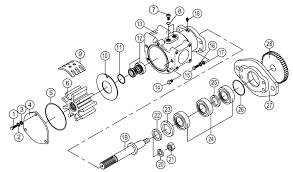 smx 1730 seawater pump seaboard marine