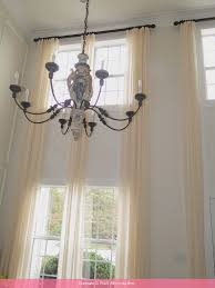20 Foot Curtains Interiors Blinds For 2 Story Windows 18 Foot Curtains Two Story