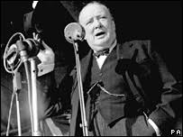 What Is The Iron Curtain Speech Bbc News Europe Churchill Speech A Lesson For The Present