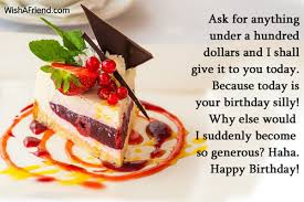 ask for anything a hundred happy birthday wishes