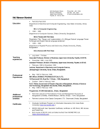 Sample Resume For Computer Science Graduate by 28 Resume Samples For Lecturer In Computer Science Career