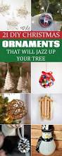 21 diy christmas ornaments that will jazz up your tree