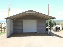 utility carports colorado steel buildings metal garage storage