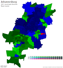 Port Elizabeth South Africa Map by South African Election Maps And Stats
