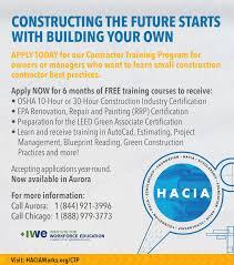 Construction Estimating Certification by Hacia Haciasef Contractor Program