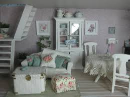 Shabby Chic Dollhouse by 199 Best A Mini Shabby Chic Cottage U0026 Country Living Room Images