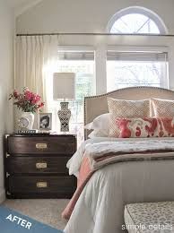 Before And After Bedroom Makeover Pictures - before and after a colorfully elegant bedroom makeover curbly