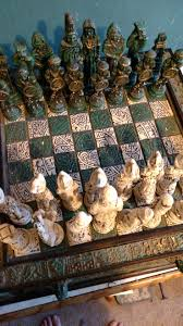 interesting chess sets my awesome chess set based off the conquistadores that fought the