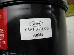 oem ford power steering fluid reservoir e8hz3a697d ford l series