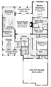 Farmhouse House Plans With Porches Farmhouse Style House Plan 4 Beds 2 00 Baths 2510 Sq Ft Plan 21 331