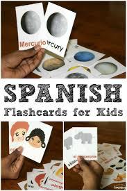 printable spanish flashcards look we u0027re learning