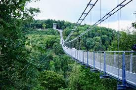 Baden Im Harz Die Längste Hängebrücke Der Welt U2013 Eine äußerst Wackelige