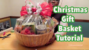 how to make gift baskets diy gift basket tutorial christmas gift basket