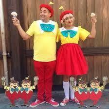 Tweedle Dee And Tweedle Dum Costumes Official