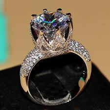 big stones rings images The fantastic unbelievable diamond engagement ring with sapphire jpg