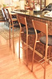 Kitchen Islands With Bar Stools Island Bar Stools Transformed With Modern Masters