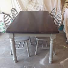 painted with rustoleum spray paint stone gray minwax stain dark