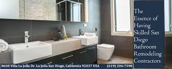San Diego Bathroom Remodel by Having Skilled San Diego Bathroom Remodeling Contractors