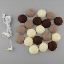 String Lights Balls by Aliexpress Com Buy Xmas 20pcs Cotton Ball Style Fairy String